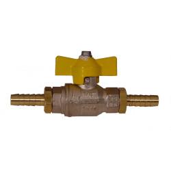 Fuel tap metalen knop