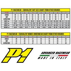 P1 Comfort Top plus FIA Modacrylic
