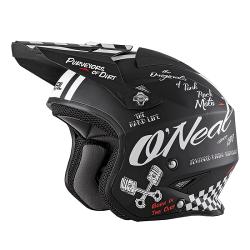 SLAT Helm TORMENTZwart/Wit