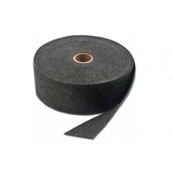 Uitlaat Isolatie Band Zwart 5cm x 15 Mtr