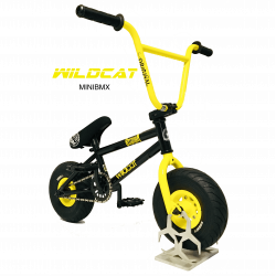 Wildcat Mini BMX black yellow
