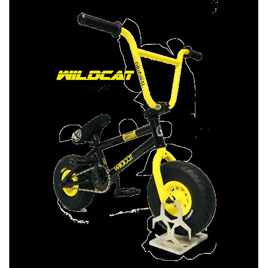 Wildcat Mini BMX black yellow